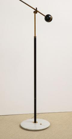 Stilux Milano Floor lamp with yellow shade and marble base - 1131050