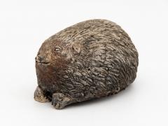 Stone Hedgehog with Patina - 1904241