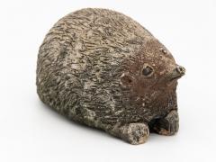 Stone Hedgehog with Patina - 1904242