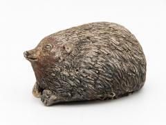 Stone Hedgehog with Patina - 1904243