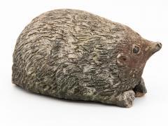 Stone Hedgehog with Patina - 1904244
