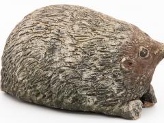 Stone Hedgehog with Patina - 1904245