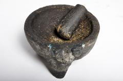 Stone Mortar with Pestle - 1652754