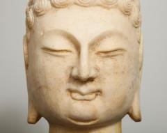 Stone Sculpture of Buddha Head - 1107985