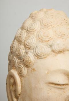 Stone Sculpture of Buddha Head - 1107987