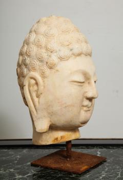 Stone Sculpture of Buddha Head - 1107988