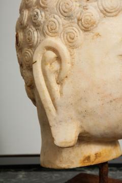 Stone Sculpture of Buddha Head - 1107989