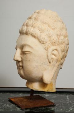 Stone Sculpture of Buddha Head - 1107990