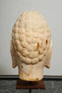 Stone Sculpture of Buddha Head - 1107991