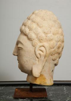 Stone Sculpture of Buddha Head - 1107992