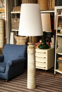 Stoneware Vase Floor Lamp - 1454005