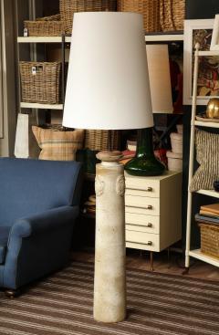 Stoneware Vase Floor Lamp - 1454011