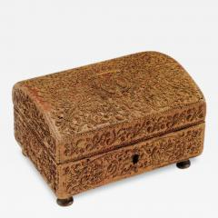Straw on a Wooden Core marqueterie de paille Toilette Box - 155159