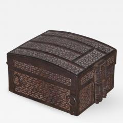Strong Box missal casket Iron over Iron on an Oak Core - 194191