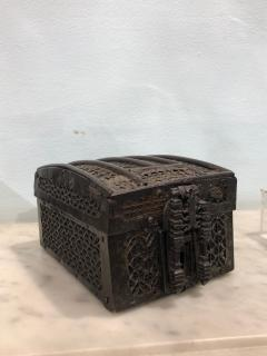 Strong Box missal coffers also called messenger box France circa 1430 1470 - 920340