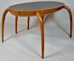 Studio Crafted Spider Leg Oval Writing Desk 1970s - 569594