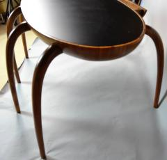 Studio Crafted Spider Leg Oval Writing Desk 1970s - 569598