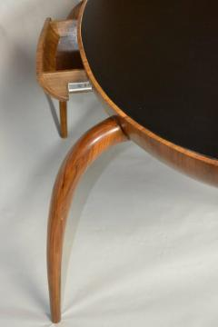 Studio Crafted Spider Leg Oval Writing Desk 1970s - 569599