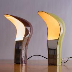 Studio DA Set of Two Pelota Table Lamps by Studio DA for Lamperti - 781828