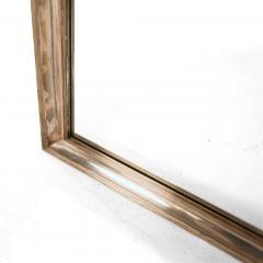 Studio Del Campo Grape Harvest Frieze Enamel Silver Frame Mirror by Studio Del Campo - 775301