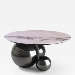 Studio MVW JinShi Pink Jade Coffee Table Gunmetal Grey version - 682939