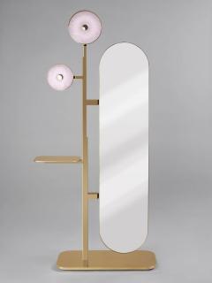 Studio MVW JinShi Pink Jade Mirror - 674347