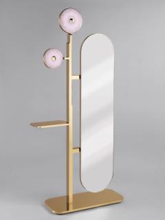 Studio MVW JinShi Pink Jade Mirror - 674348