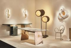Studio MVW JinShi Pink Jade Table - 674432