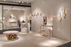 Studio MVW Large JinShi Pink Jade Wall Lamp - 673786