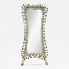 Studio Made Floor Standing Full Body Mirror 1970s - 268580