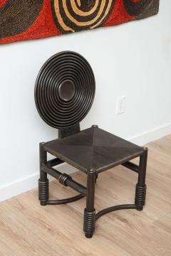 Studio Metal Bronze Patina Accent Chair  - 1900103