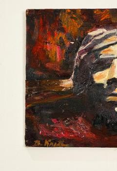 Study of a Face Oil on Canvas - 1911045