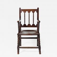 Stunning Bobbin Turned Armchair - 665384