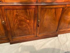 Stunning George III mahogany breakfront - 1387372