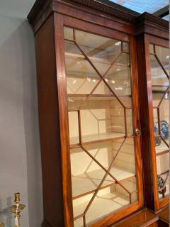 Stunning George III mahogany breakfront - 1387376