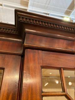 Stunning George III mahogany breakfront - 1387378