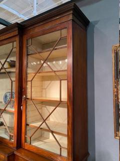 Stunning George III mahogany breakfront - 1387381