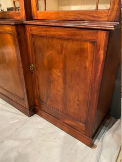 Stunning George III mahogany breakfront - 1387382