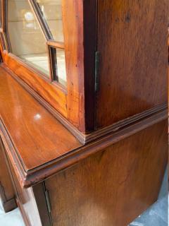 Stunning George III mahogany breakfront - 1387385