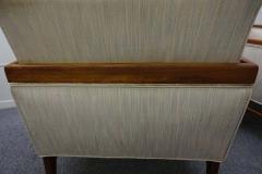 Stunning Pair of American Mid Century Modern Walnut Lounge Chairs - 1796237