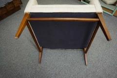 Stunning Pair of American Mid Century Modern Walnut Lounge Chairs - 1796243