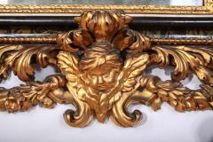 Stunning Pair of Carved Italian Giltwood Mirrors 17th Century - 632414