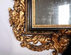 Stunning Pair of Carved Italian Giltwood Mirrors 17th Century - 632416