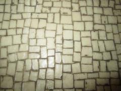 Stunning Pair of Mosaic Top Mid Century Modern Nightstands - 1843430