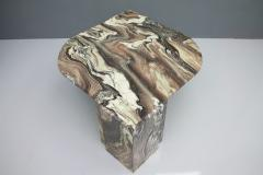 Stunning Sculptural Marble Coffee Italy 1970s - 1268486
