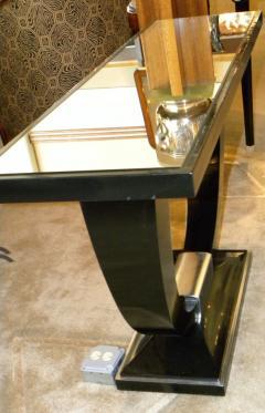 Stunning U Shaped Base Art Deco Modernist Console - 123275