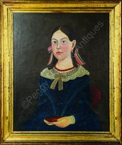 Sturtevant J Hamblin Superb Folk Portrait by Sturtevant Hamblin - 1199050