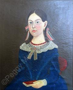 Sturtevant J Hamblin Superb Folk Portrait by Sturtevant Hamblin - 1199099