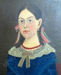 Sturtevant J Hamblin Superb Folk Portrait by Sturtevant Hamblin - 1199100