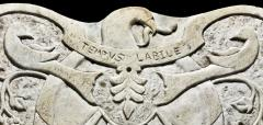 Stylized Eagle with Shield Sun Dial  - 316961